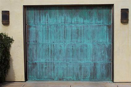 Copper garage door constructionCopper Garage Doors Phoenix  AZ   Rustic Garage Doors. Exterior Doors Phoenix Az. Home Design Ideas