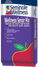 Wellness Senior Mix for older horses Textured 50 pounds