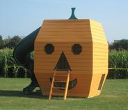 Wooden Pumpkin Play Structure