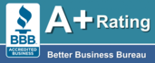 A+ Better Business Bureau Logo