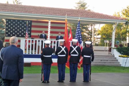 United States, Embassy of United States in Ankara, Turkey, Independence Day, Ambassador John R. Bass