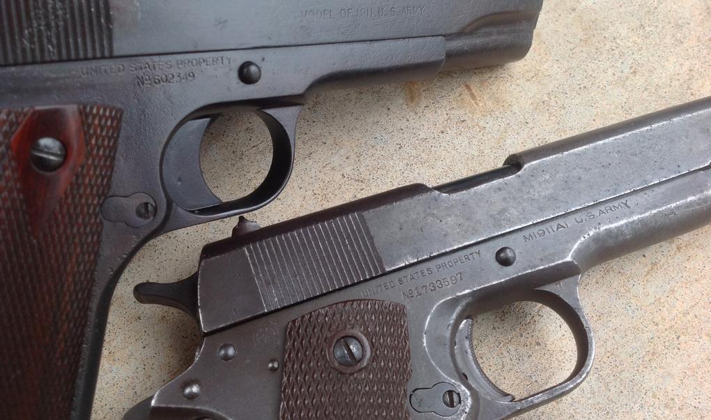 WWII Colt USGI M1911a1