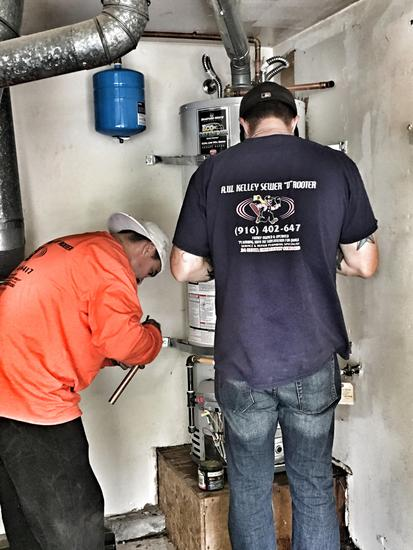 Roseville water heater service