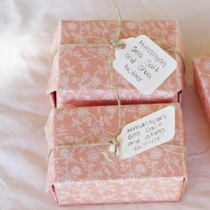 custom soap wrapping paper