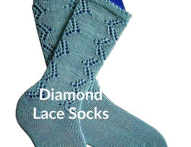 Diamond Lace Socks