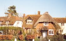 Picture of cottage opposite the village green
