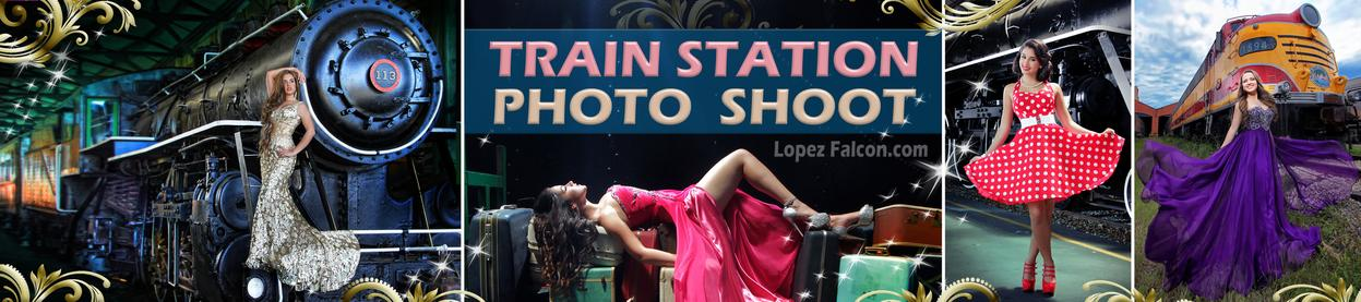 Quinceanera Train Miami Quince Quinces Trains Station Photography video Dresses Photo Shoot