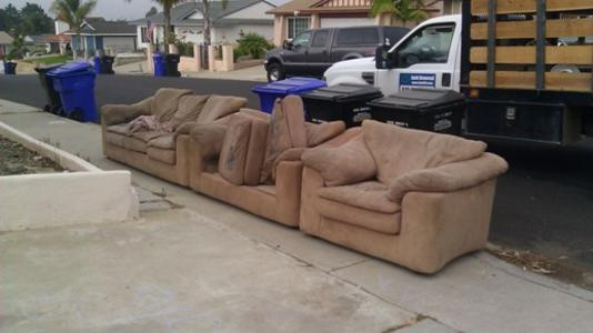 sectional junk furniture removal in omaha ne