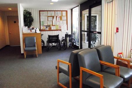 Marlin Clinic waiting room