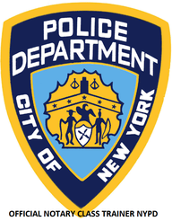 Notary Public Classes Trainer NYPD