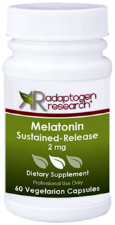 Adaptogen Research, Melatonin Sustained Release