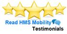 Customer reviews HMS Mobility