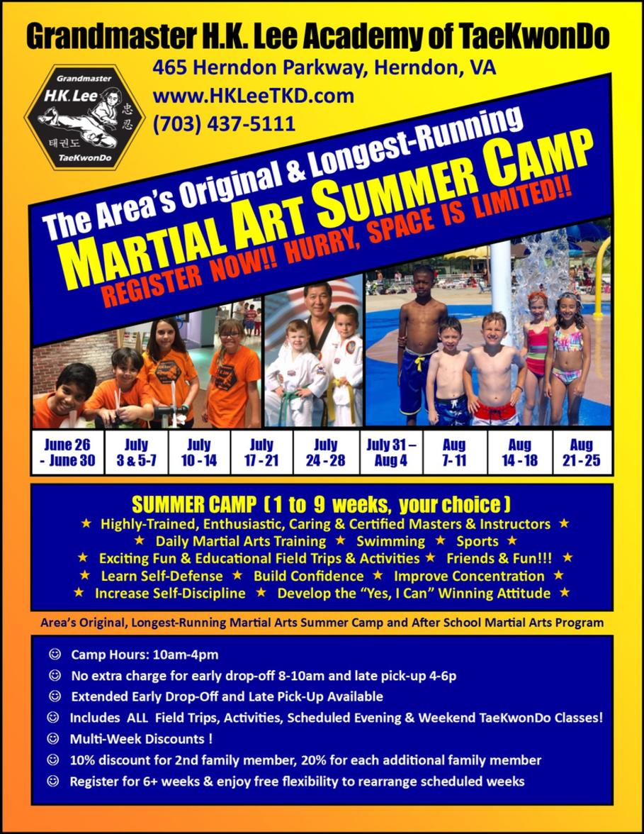 Flyer - Summer Camp