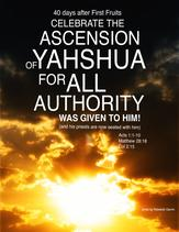 "Purchase our ""Ascension of Yahshua"" workbook for $7"