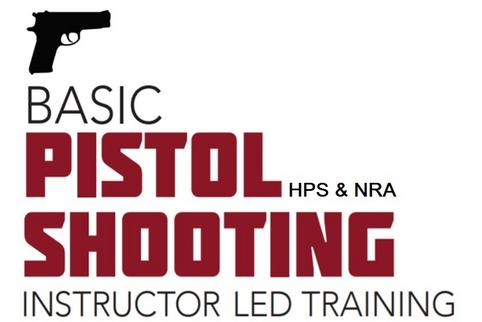 Sign up today for your NRA Basic Pistol Shooting Course