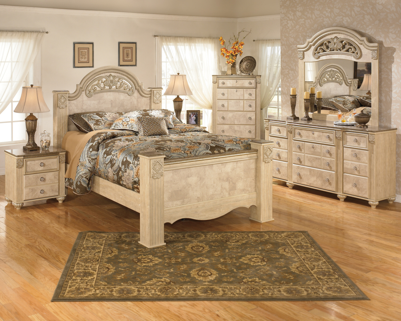 q products by signature ashley group wayside bedroom number item queen camilone design