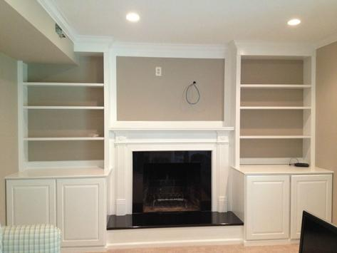 CUSTOM CABINETS AND MANTELS
