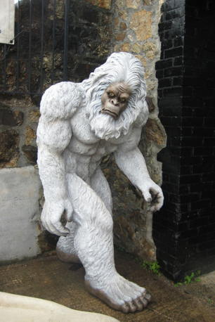 Life Size Yeti Event Prop Hire