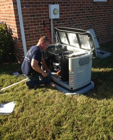 Generator service Richmond VA.