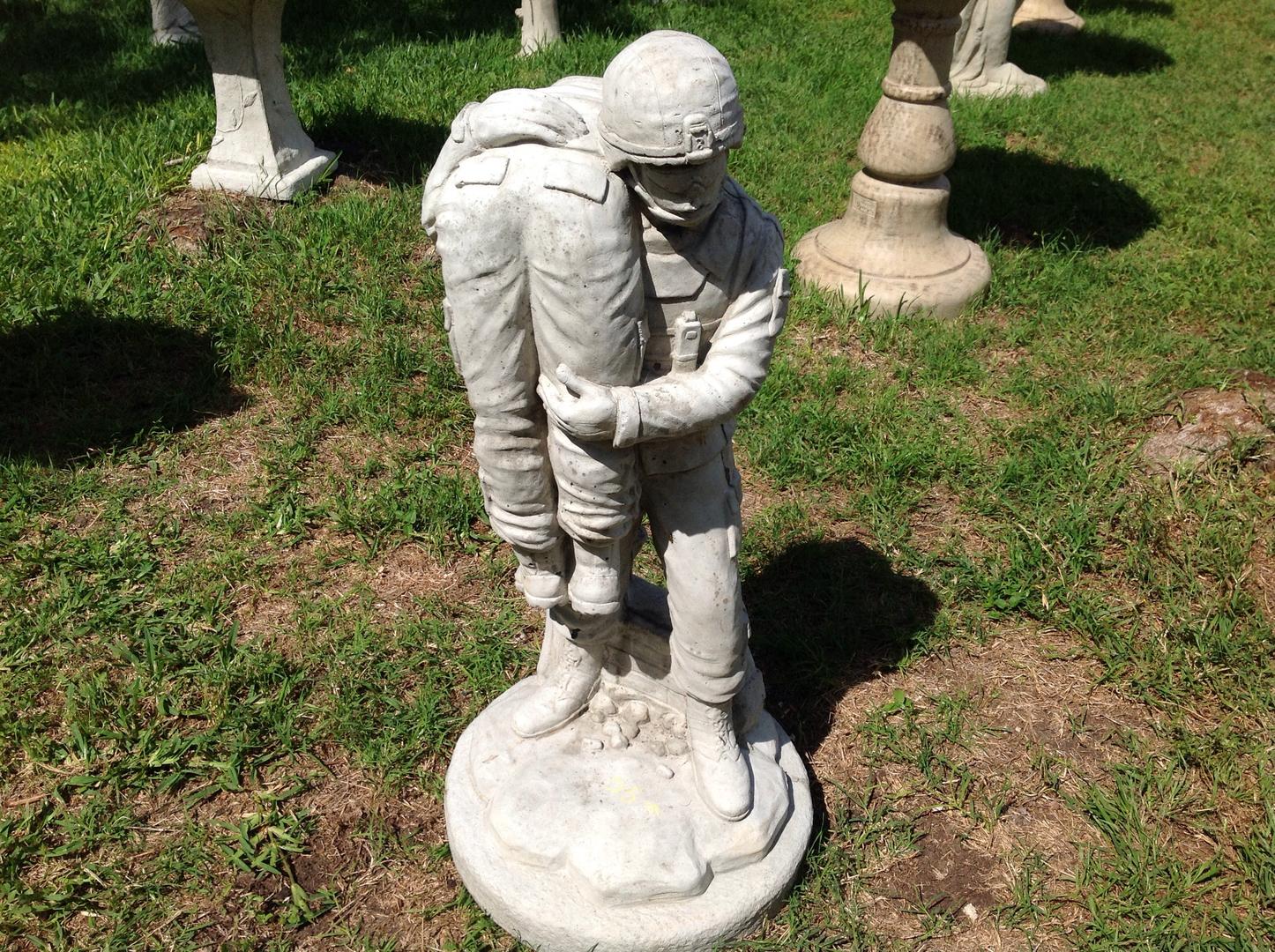 Concrete statuary and garden decor in San Antonio TX