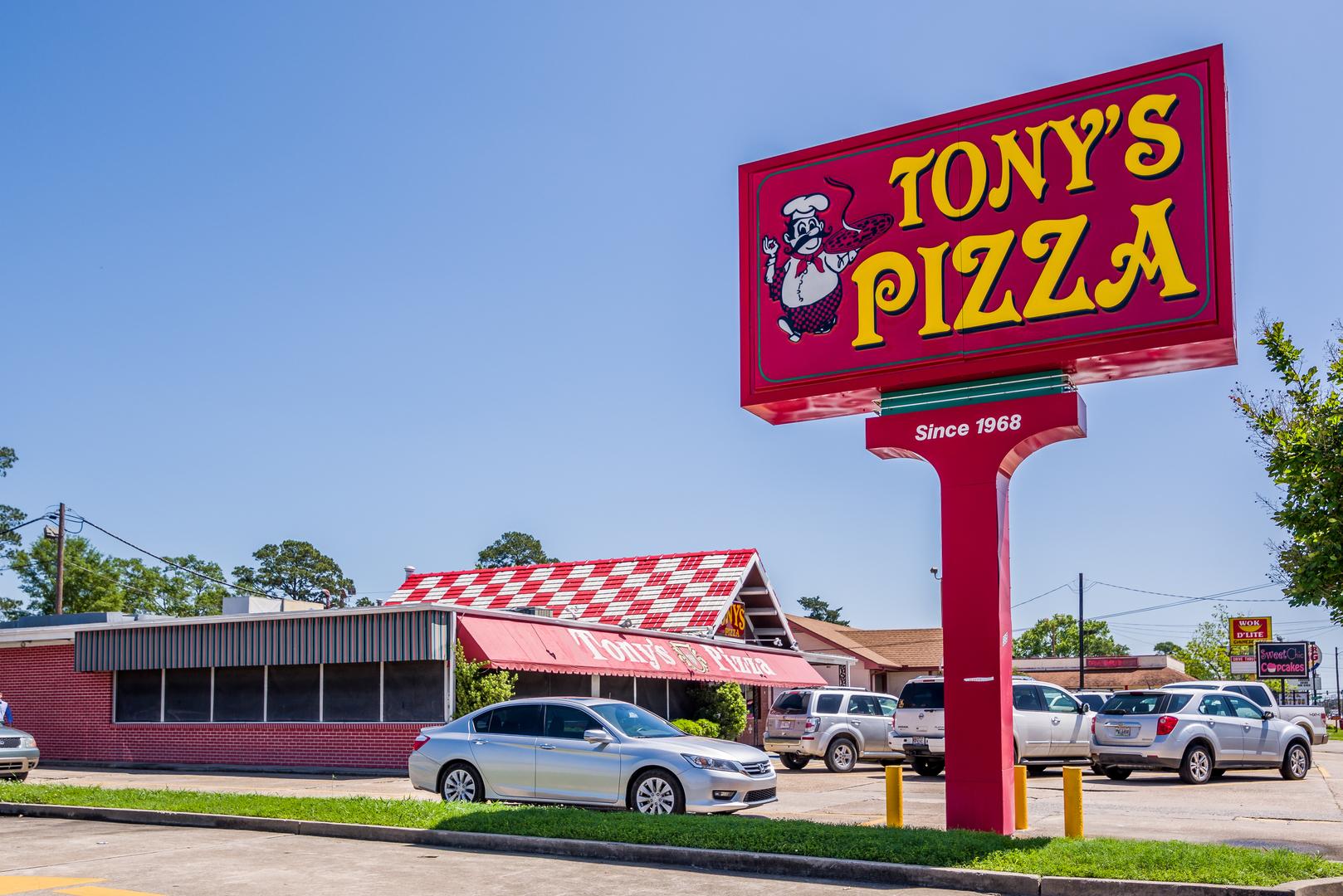 tony s pizza inc in lake charles la