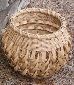 Woven Braided Basket