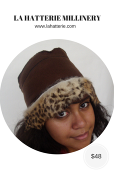 Fall/Winter Casual Hat- 1605-Felt Hat