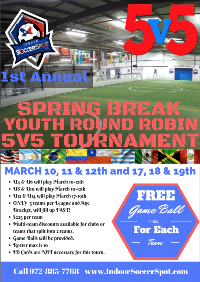 5v5 Indoor Tournament