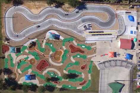 Katy Tx Inflatables Kids Birthday Party Place Miniature Golf Go