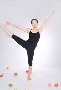 Eleven Components of Fitness; Woman balancing on one leg.