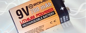 A battery used in our electrolarynx products