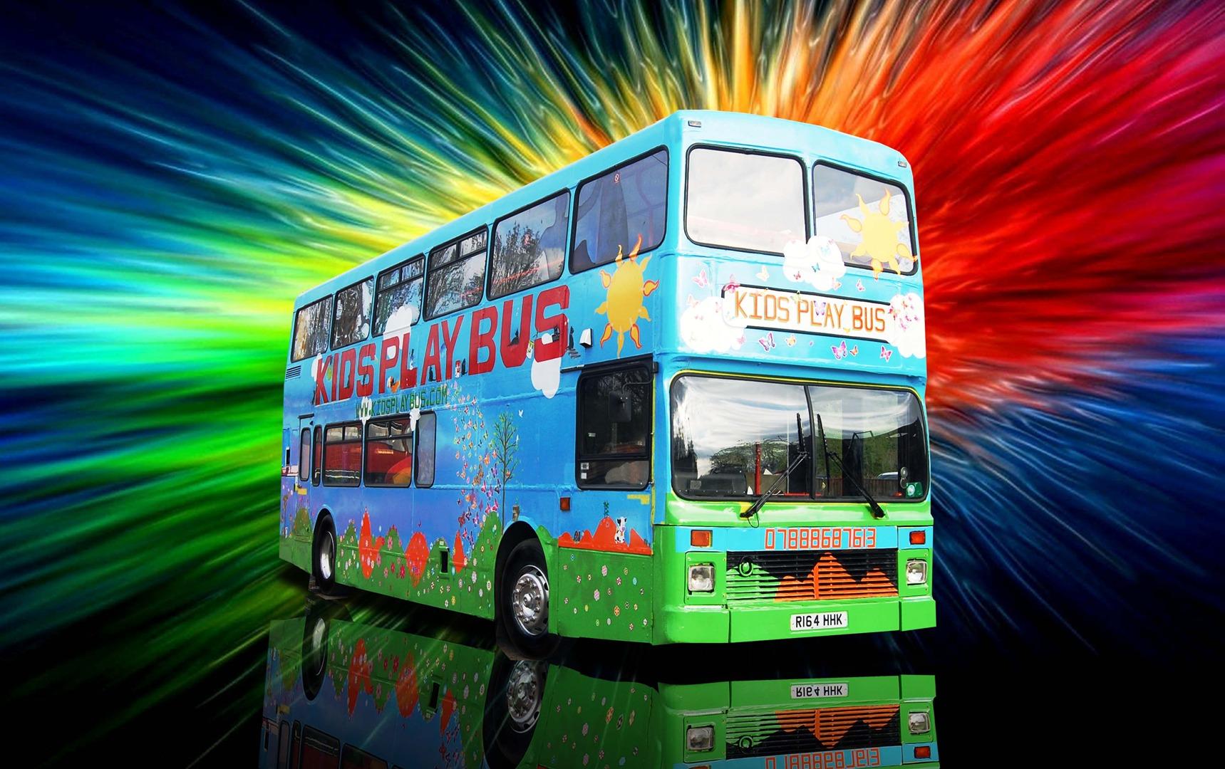 Kids Party And Play Bus In Aylesbury - Childrens birthday parties in milton keynes