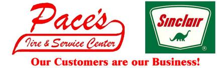 Pace's Sinclair Tire & Service Center