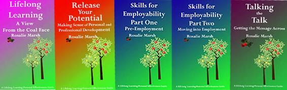 Image of all five lifelong Learning books