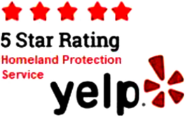 Homeland Protection Service is 5-Star on Yelp