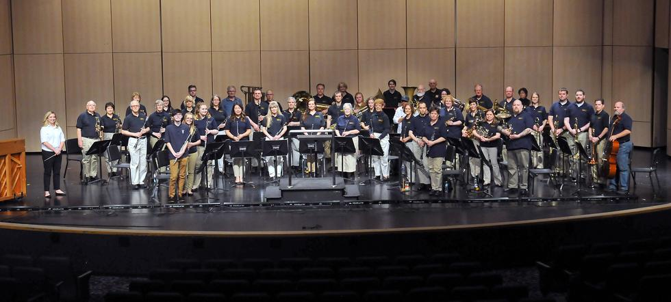 Grand Ledge Community Band. Credit: Chris Holmes / Holmes Photography Studio (517)627-4761