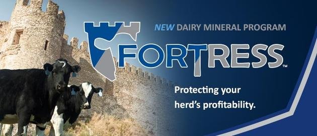 Fortress Dairy Lactation Minerals- Available at Performance Blenders