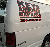 Keys Armored Express Armored Car Service In The Florida Keys