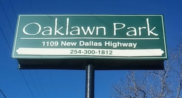 Oaklawn Mobile Home Park In Waco Texas