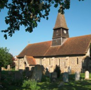 Picture of St Mary's church and churchyard