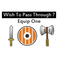 Equip One Sticker