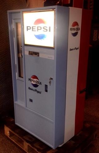 Pepsi Cola Vendo V56 antique soda machine
