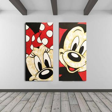 Minnie and Mickey MOUSE « I Love You »