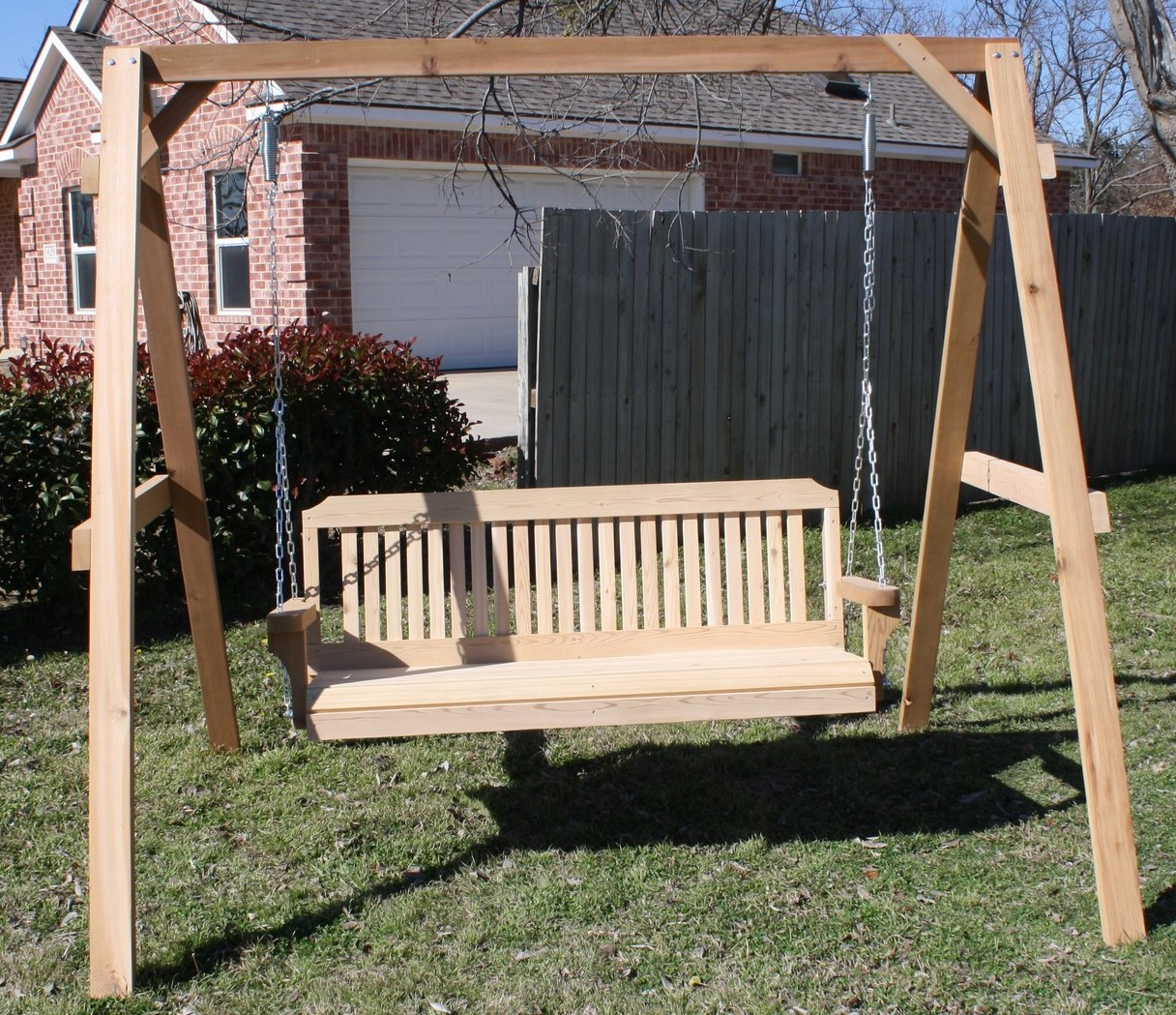 Tall A-frame with Swing