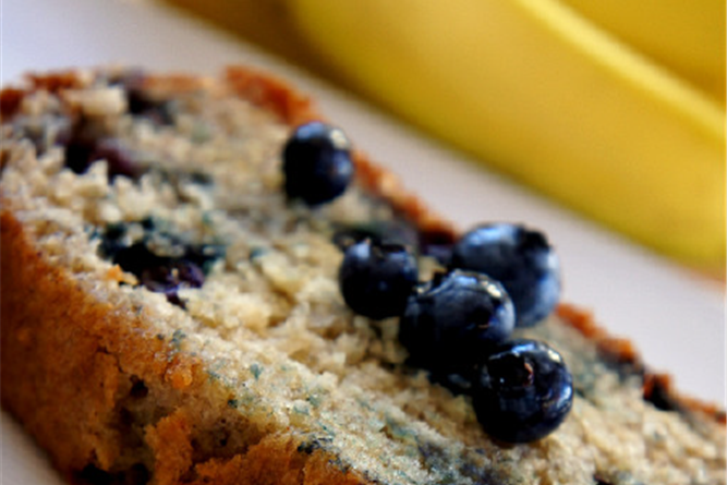 Blueberry banana bread amateurkitchen tv Channel 7 better homes and gardens recipes