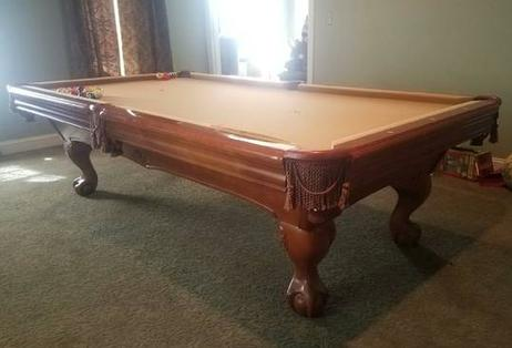 Brunswick Tables - 4 x 8 brunswick pool table