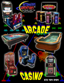 Video Games, Arcade, Novelty, Space Invaders