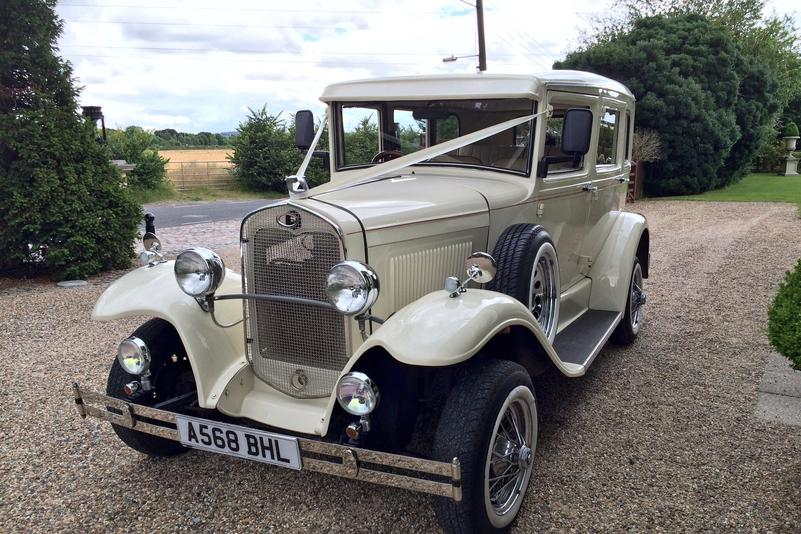 Barnsdale Saloon Wedding Car Essex hire from Essex Wedding Cars