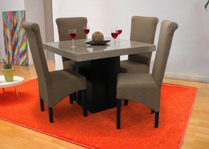 Madera marmol procesado y granito procesado for Comedor de marmol 8 sillas precio