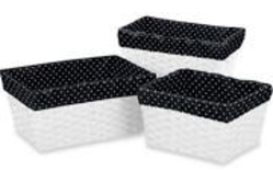 Sweet Jojo Designs Kaylee Mini Polka Dot Basket Liners from Bed Bath & Beyond - $32.99